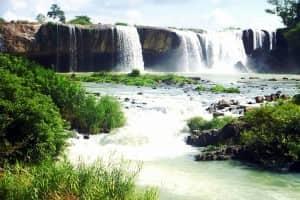 TRINH NU WATERFALL, DRAY SAP WATERFALL AND GIA LONG WATERFALL SIGHTS