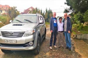 Fortuner Car 7 seats 2015 with our driver