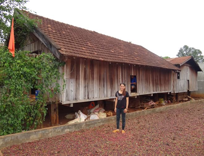 THE AMA Y THUOT'S LONG HOUSE 3