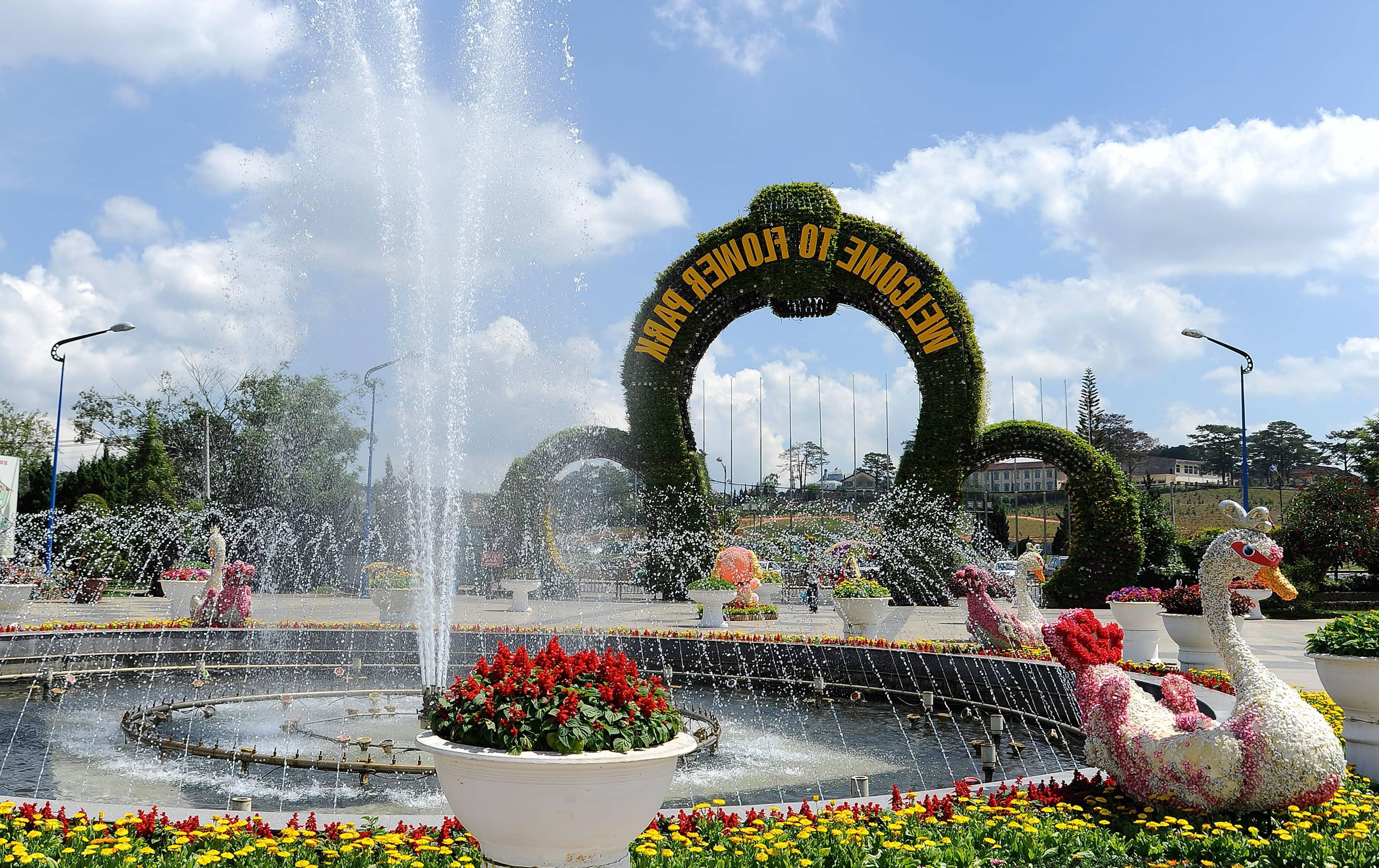 dalat flower park